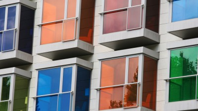 """Colorful windows"" by Dino Quinzani"